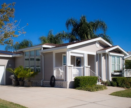 Manufactured housing in comes in all shapes and sizes