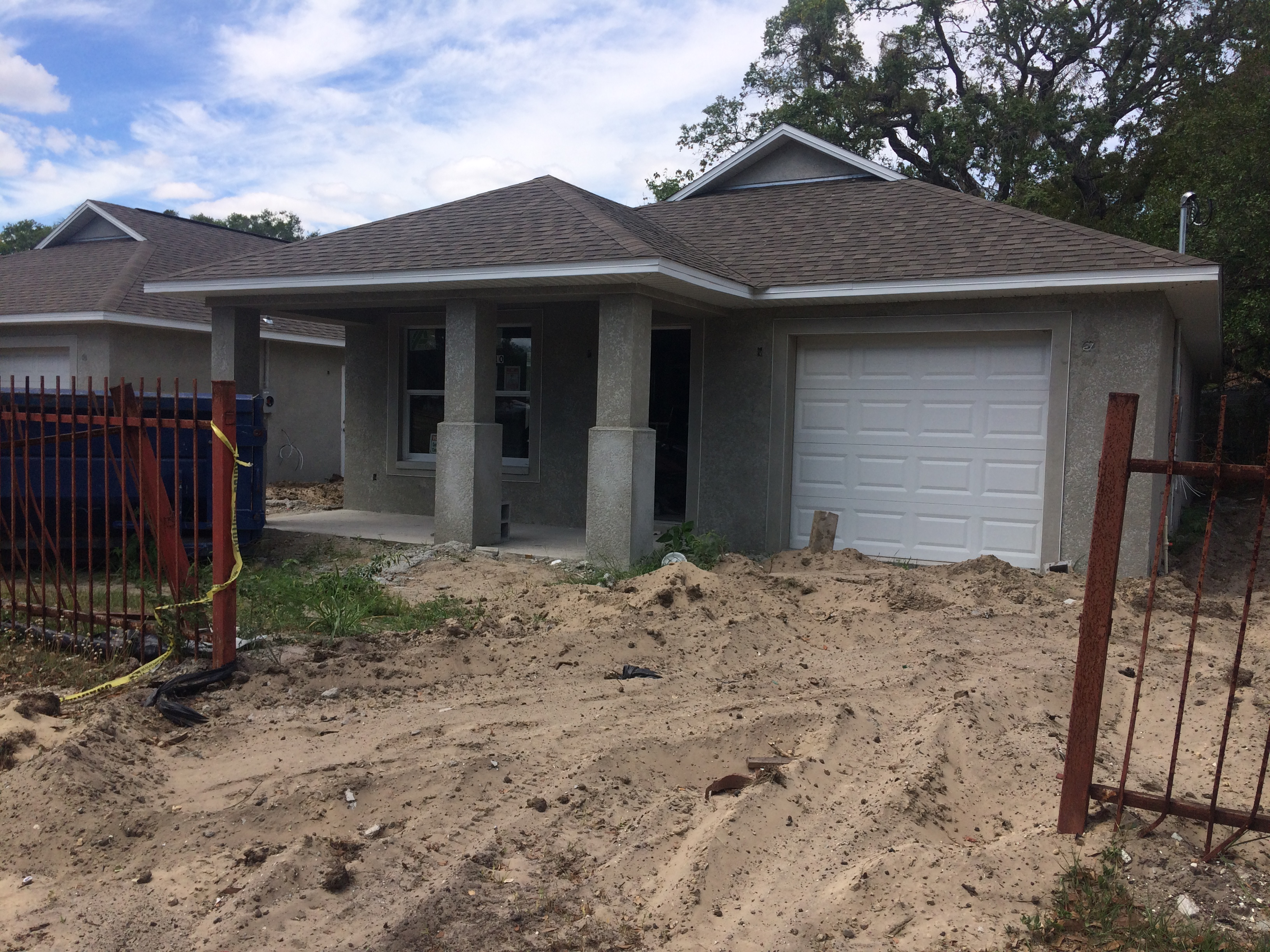 This three-bedroom home is one of 13 being built by the Corporation to Develop Communities of Tampa to bring new housing options to underserved communities