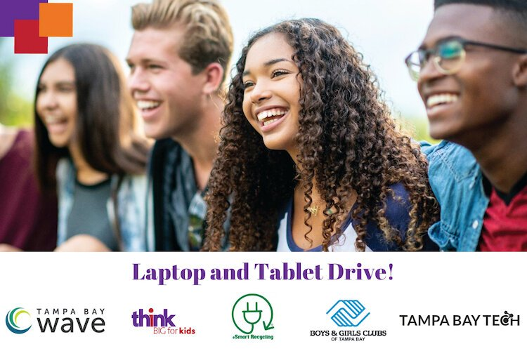Think Big for Kids solicits donations of laptops and computers for back to virtual school drive.