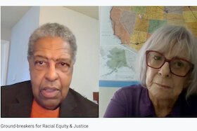 Tampa activist Jan Roberts interviews William Darrity of Duke University about social justice and equity issues.