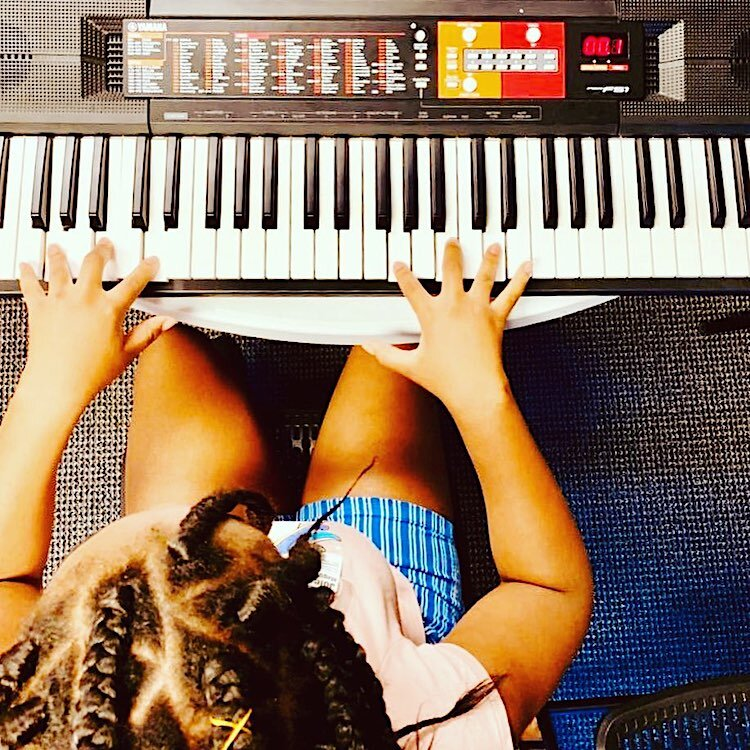 Keyboard is one of the instruments offered through Instruments 4 Life.