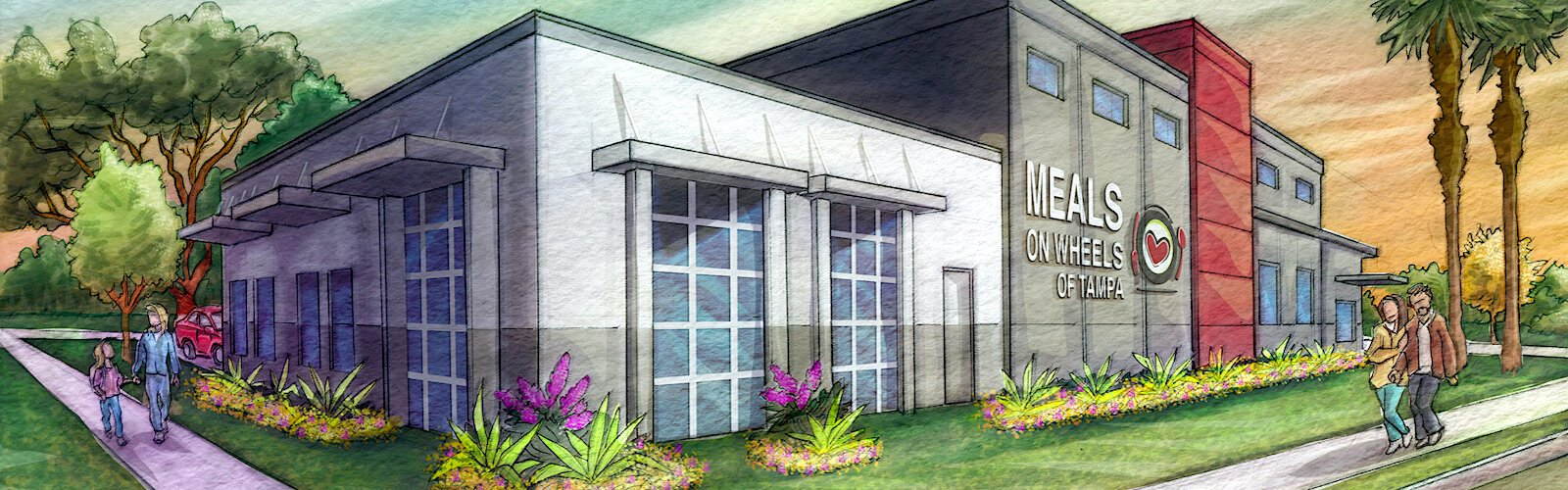 JVB Architect, LLC and Azzarelli Builders are partnering with Meals on Wheels Tampa for a major expansion project.