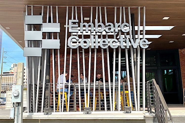 Endeavr Coffee, owned by Blind Tiger Cafe, serves up refreshments at Embarc Collective.