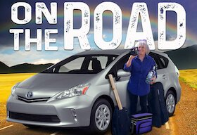 Traveler Jan Roberts and her Prius hit the road again.