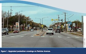 Fletcher Avenue Compete Streets Redesign