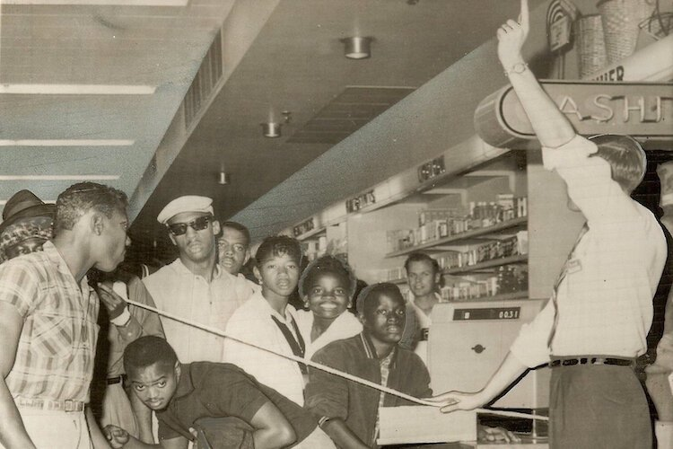 The Civil Rights Movement in Tampa began in earnest on February 29, 1960, with a sit-in at the Woolworth's lunch counter downtown.