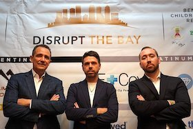 Mike Delucia, Kyle Matthews, and Stan Liberatore of Disrupt the Bay.