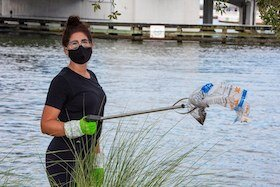 Hillsborough River cleanup.