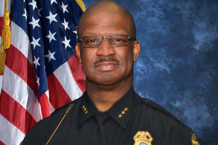 St. Petersburg Police Chief Anthony Holloway