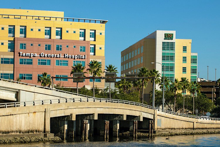 Tampa General Hospital serves as USF Health's teaching hospital.