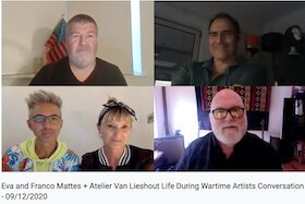 A conversation with artists Eva & Franco Mattes and Atelier Van Lieshout led by USFCAM Curator-at-large Christian Viveros-Faune.