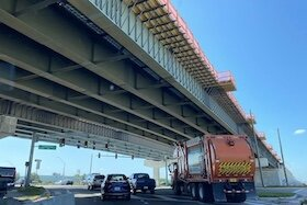 Road and bridge construction continues along U.S. 19 through Clearwater.
