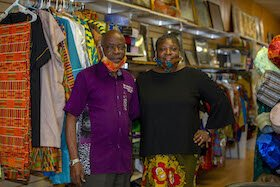 "Evelyn Igbinosum, along with her husband Taiwo, have been operating ""African Extravaganza"" for 26 years in Tampa."
