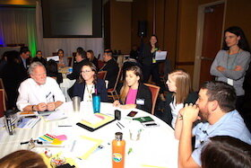 USF students and professors participated in a regional climate summit back in January 2020.