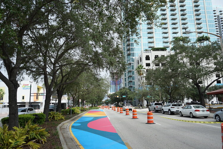 The City of Tampa and the Tampa Downtown Partnership are working together with Hillsborough County to make streets safer for all.