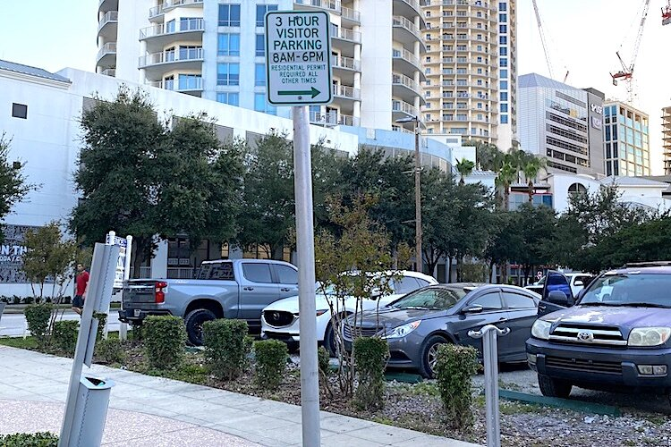 Visitors to Tampa need to pay attention to signage guiding parking rules.