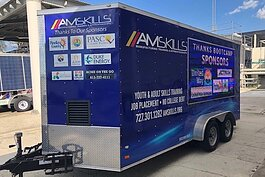 The AmSkills mobile unit takes manufacturing job training around Tampa Bay.