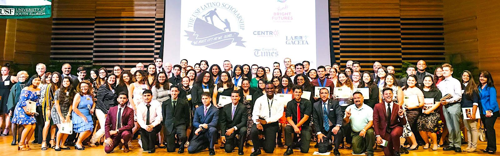 There are 147 students in the USF Latino Scholarship Program.
