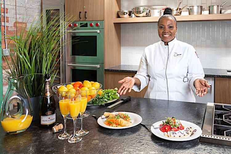 "Kareen ""Coco'' Linton, Culinary Educator at Escoffier School of Culinary Arts online and CEO of her own lifestyle company, A Dash of Coco LLC."