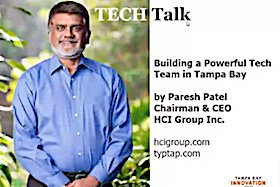 Paresh Patel, CEO of HCI Group.