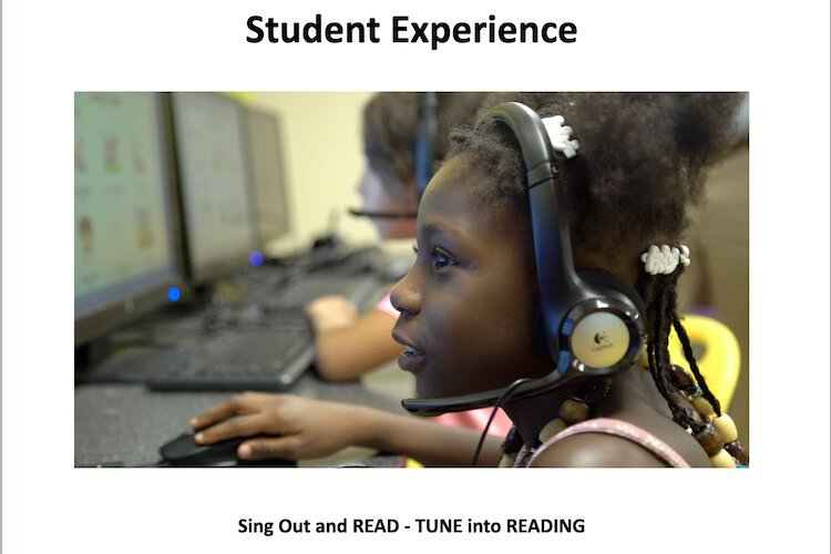 Sing Out and READ uses music, song lyrics to help kids improve their reading skills.