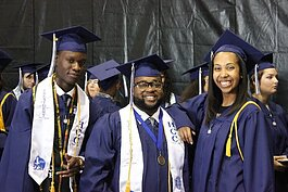Recent Hillsborough Community College graduates.
