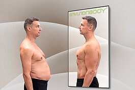 Images in the EnvisionBody project what a fitter you could look like.