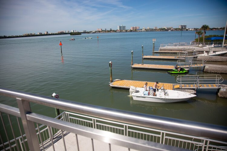 The Seminole Boat Ramp is equipped with eight boat launches and 24/7 access with $2 per hour paid parking and no time limits.