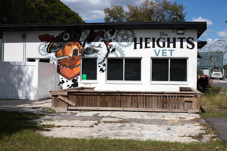 Tampa Heights' reputation as a very pet-friendly environment led to the opening of The Heights Veterinary Clinic.