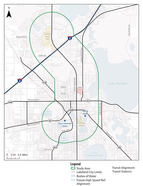 The Florida Department of Transportation is conducting feasibility studies of a proposed Bus Rapid Transit system in Lakeland.