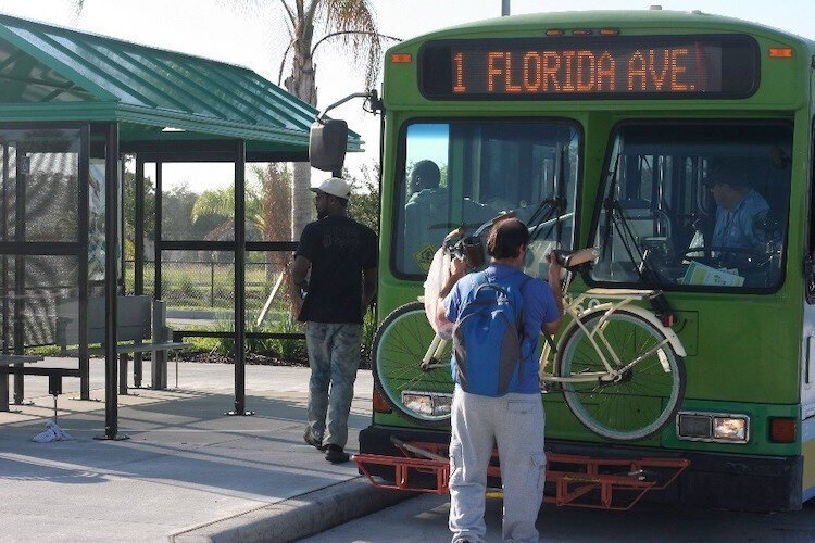 A BRT would speed up and increase bus service between well-traveled routes in Lakeland in Polk County.