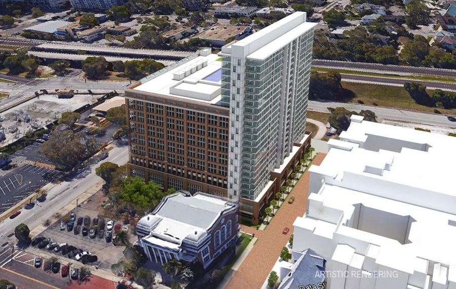 3-building High-rise Project Seeks Approval In Downtown Tampa