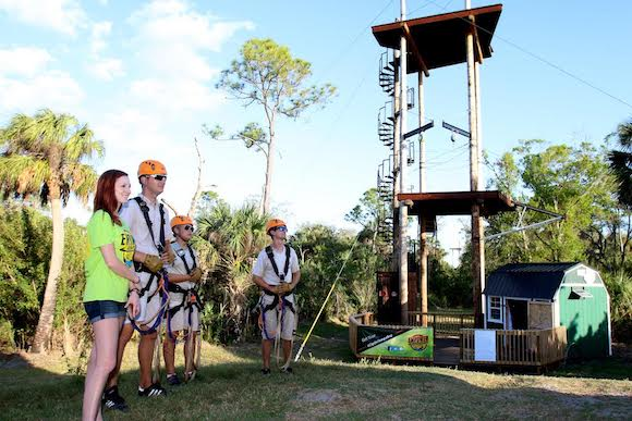 People of all ages enjoy activities at Empower Adventures in Oldsmar