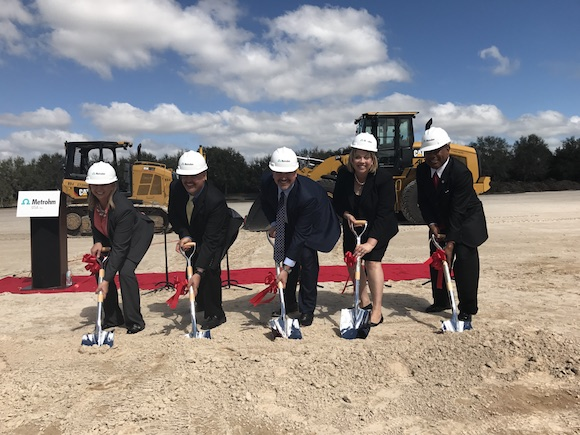 Groundbreaking in Riverview for Metrohm USA