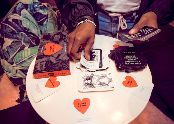 Nasty Women card game in Atlanta