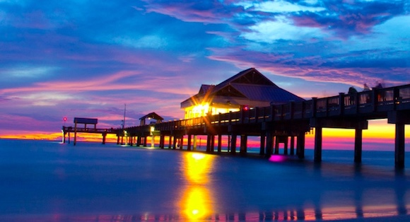 Pier 60 At Sunset On Clearwater Beach