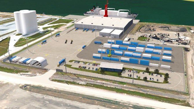 Port Tampa Bay busy with cold storage facility construction, new