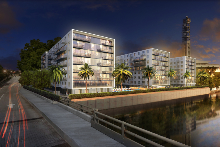 Here S What The Apartment Complex At Former Tampa Tribune Location Will Look Like
