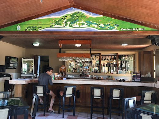 Varadero Golf Club bar