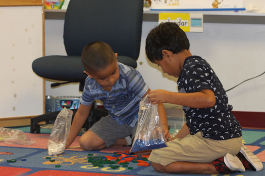 VPK students at Reddick Elementary in Wimauma.